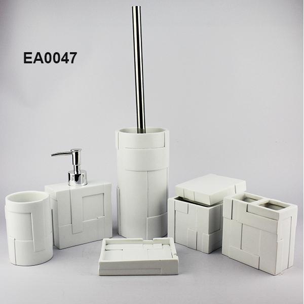 Ea0047 Bathroom Decor Sets 6pcs Nautical Bathroom