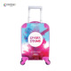 New Cute Cartoon Bear Design Wholesale 16 Inch ABS PC Kids Hard Shell Case Trolley Luggage Bags