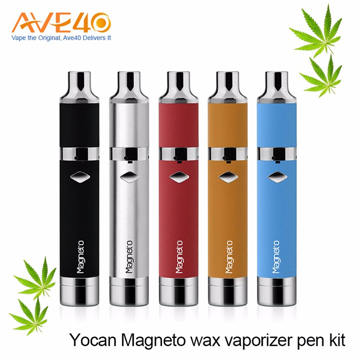 2017 trending wax vaporizer yocan magneto Magnetic wax vape pen with silicone cover