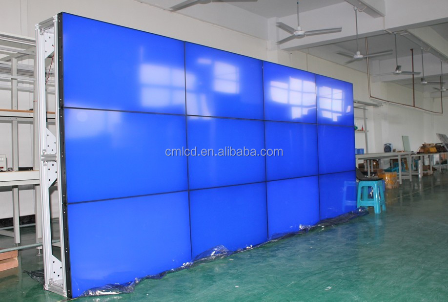 46 inch Indoor DID Screen Video Wall LCD/HDMI lcd video wall controller(HQ460-V,support touch and pc')