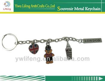 Big ben double London alloy keychain fashion key chain souvenir