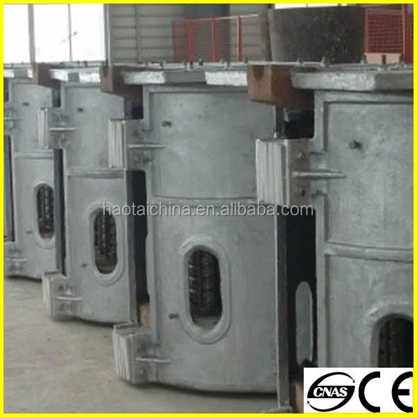 low price new design small capacity electric aluminum alloy melting furnace