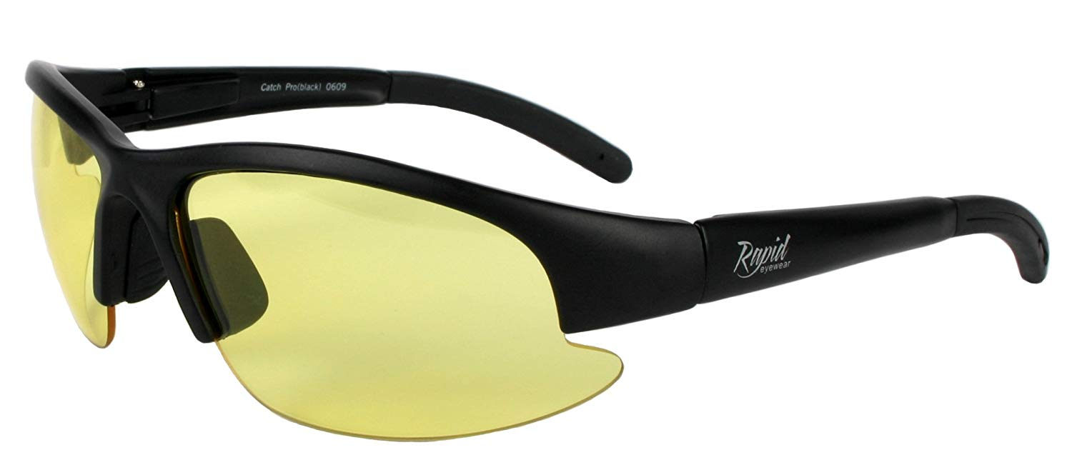 350b4236c6a Get Quotations · Rapid Eyewear GLASSES FOR DRIVING AT NIGHT for Men and  Women. HD Anti Glare Sunglasses