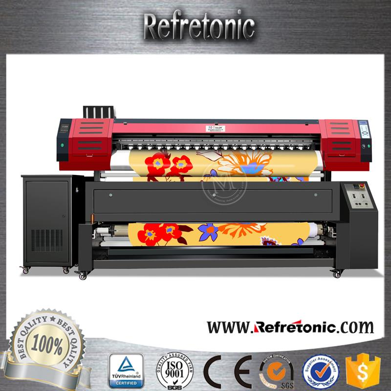 Textile Printe Manufacturer High Definition Satin digital cotton textile printer