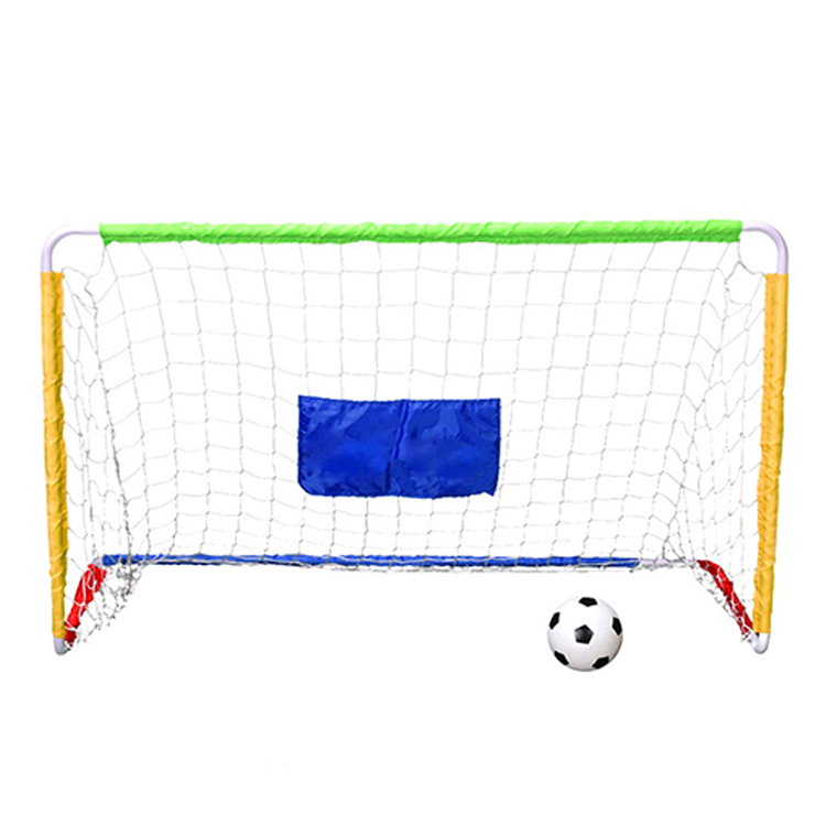 Sports Outdoor Children Toy Hot Sale Custom Portable Simple Football Training Goal