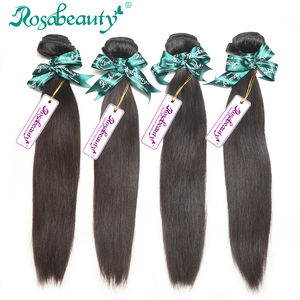 Premium virgin human malaysian straight Rosa beauty hair company