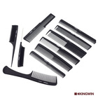 barber equipment and supplies Hairdressing hair Salon cutting Carbon barber comb set