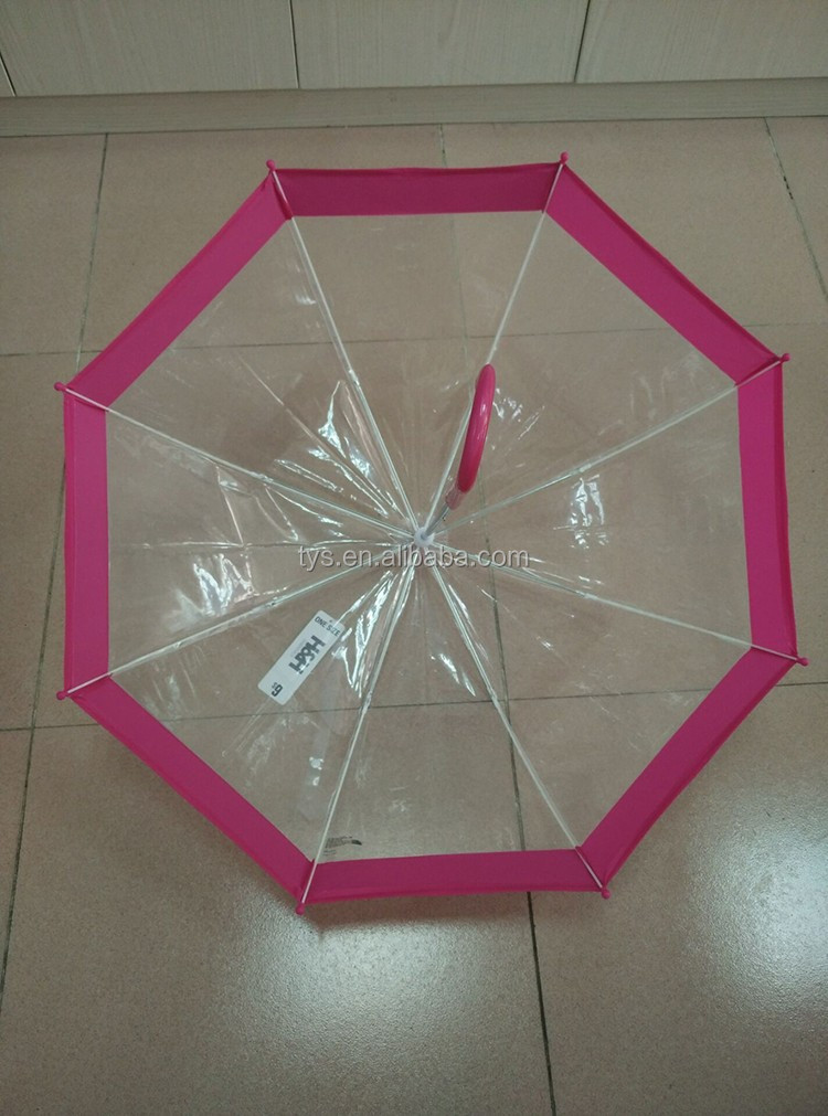 Safety Manual Open 19 Inch Kids POE Umbrella