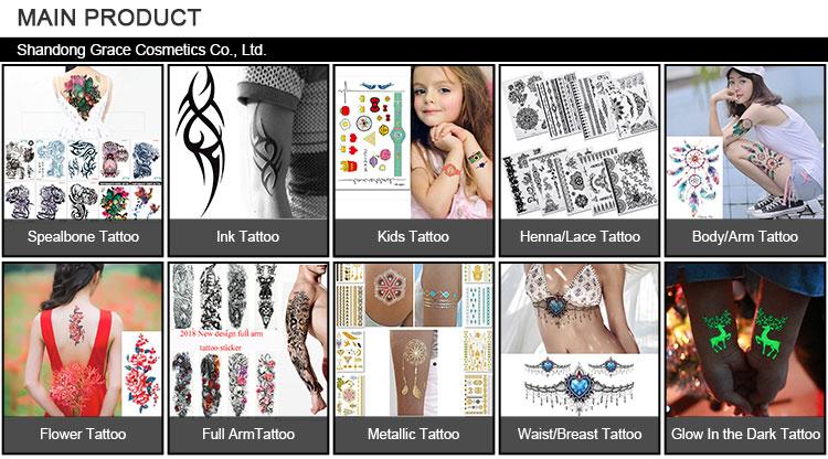 CE 1-40 hohe qualität nationalen flagge gesicht tattoo aufkleber