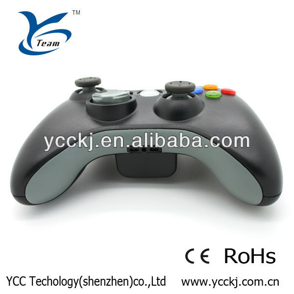 Fashionable design For Microsoft Xbox 360 PC Windows Vedio Game Wireless joystick 2013