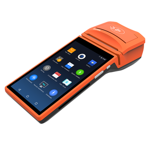 Sunmi P14G android 6.0 NFC EMV Magnetic card smart payment handheld all in one compact with printer pos terminal