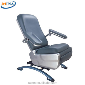 MINA-BC06 backrest adjustable CE ISO electric phlebotomy chair