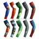 UV protection quick drying breathable polyester cycling sports compression arm warmer cheap arm sleeve