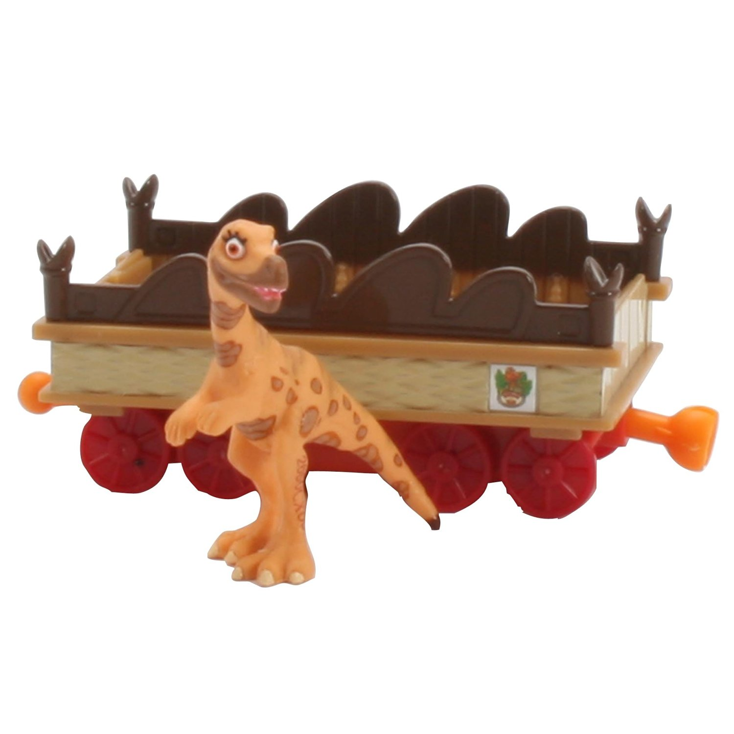 Learning Curve Dinosaur Train Collectible Dinosaur With Train Car: My Friends Are Bipeds: Leslie