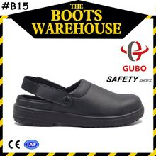 pu steel toe western style safety shoes european style