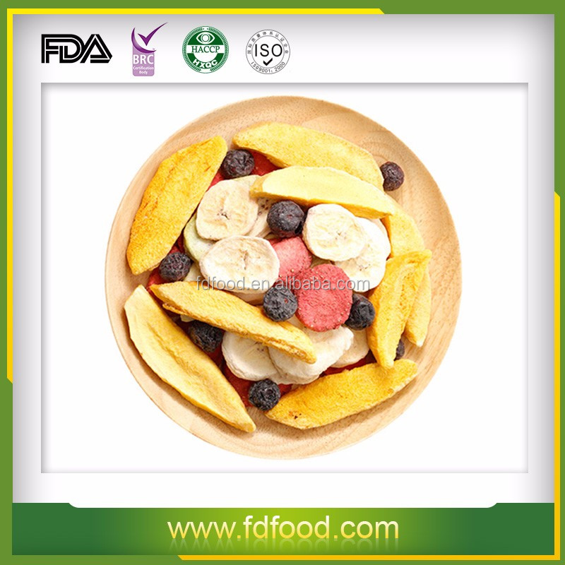 Chinese freeze-dried fruit supplier various freeze-dried fruits mix order