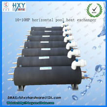 titanium coil lay type pvc shell tube heat exchanger price