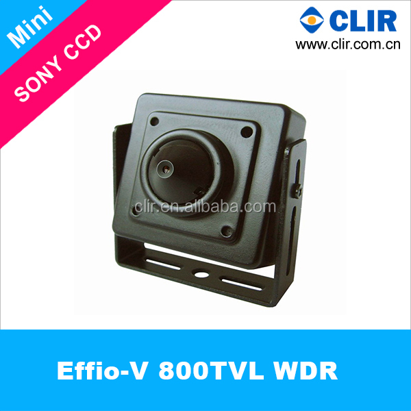 OEM 800TVL Effio-V SONY CCD 3.7mm Pinhole Lens Small CCTV Camera