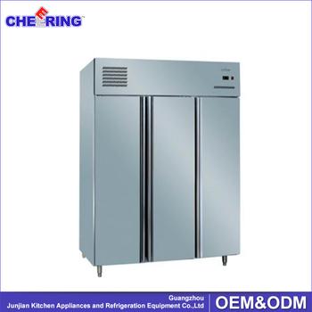 Komersial Freezer Kulkas Beku Restoran Hotel Menggunakan