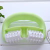 Promotional wholesales plastic hand held massager/hard plastic massage balls&scalp massage comb plastic comb