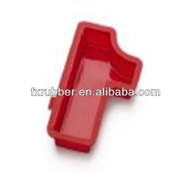 Letter/ Number 1 Silicone Baking Molds