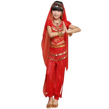 Pour Du Cloche De Enfants Indienne Tenues Et Sarouel ensembles Buy sarouel Haut Sparkle Ventre Filles Danse Choli IbHeE29YWD