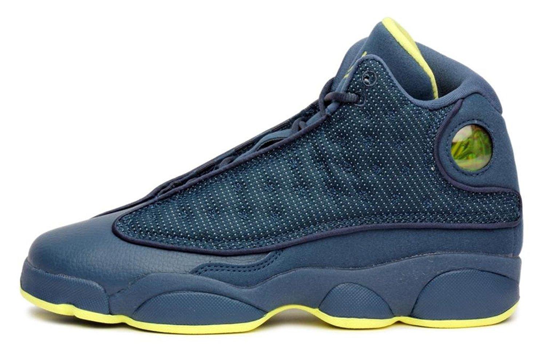 f345cfa2308998 Get Quotations · Nike Air Jordan 13 Retro (GS) Grade School sizes    Squadron Blue   414574