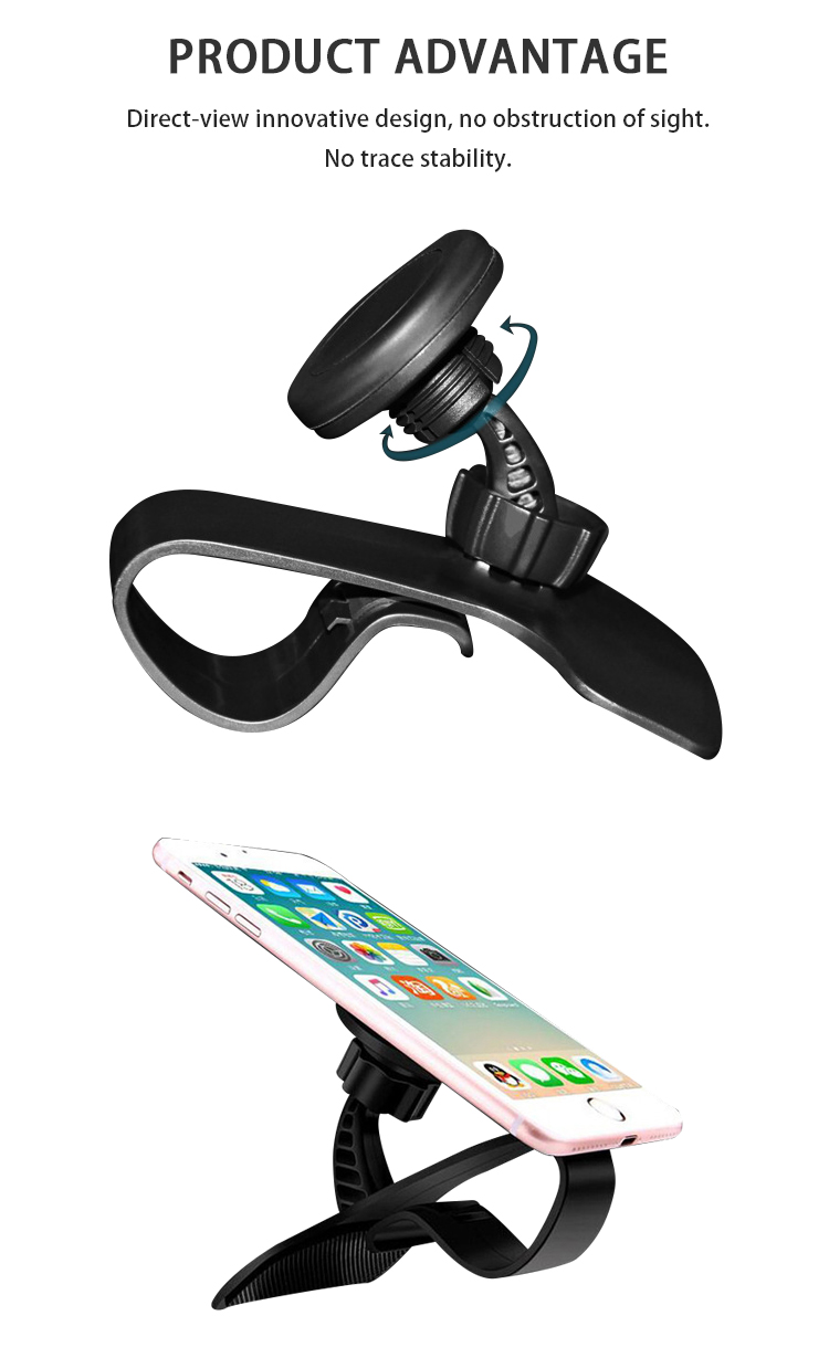 SJ-Y-023  iphone car mount telephone holder cell phone for desk