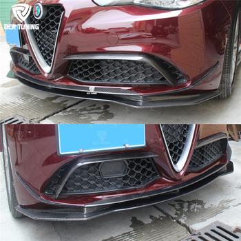 Carbon Front Lip For Alfa Romeo Giulia 200hp 280hp Giulia Front Lip