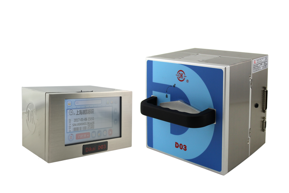 DK-700Q Pneumatic Hot Stamp batch coding machine