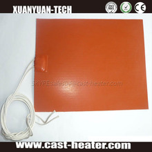 Silicone battery powered heating pad