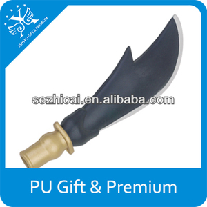 knife shaped pu promotional gifts military promotion gifts cheap giveaway gifts