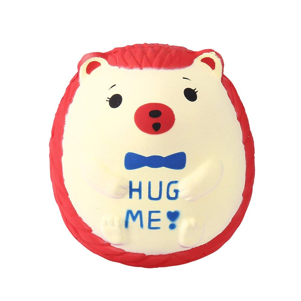 Provided Decompression Squeeze Toy Plush Cartoon Hedgehog Ball Slow Rebound Stress Relief Baby Toy Welding Helmets