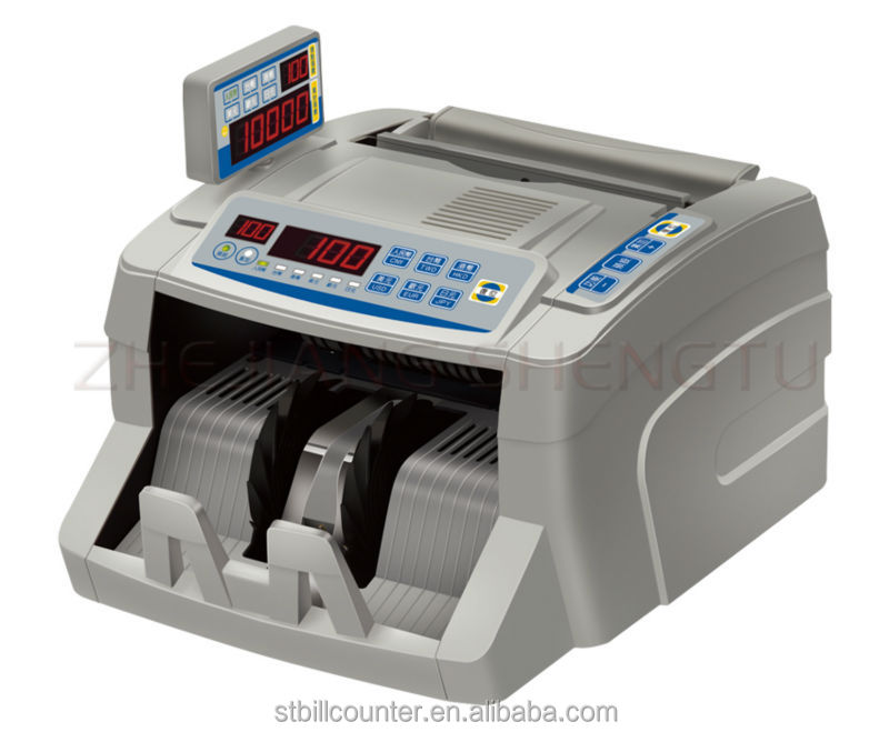 2 Display N75D Six-Currency Bank Use Currency Counter Suitable For CNY EURO USD JPY HKD TWD