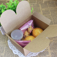 special design food package kraft paper box