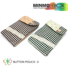 cotton material soft pouch sunglasses case, pu or pvc leather pouch, inside material with velvet pouch