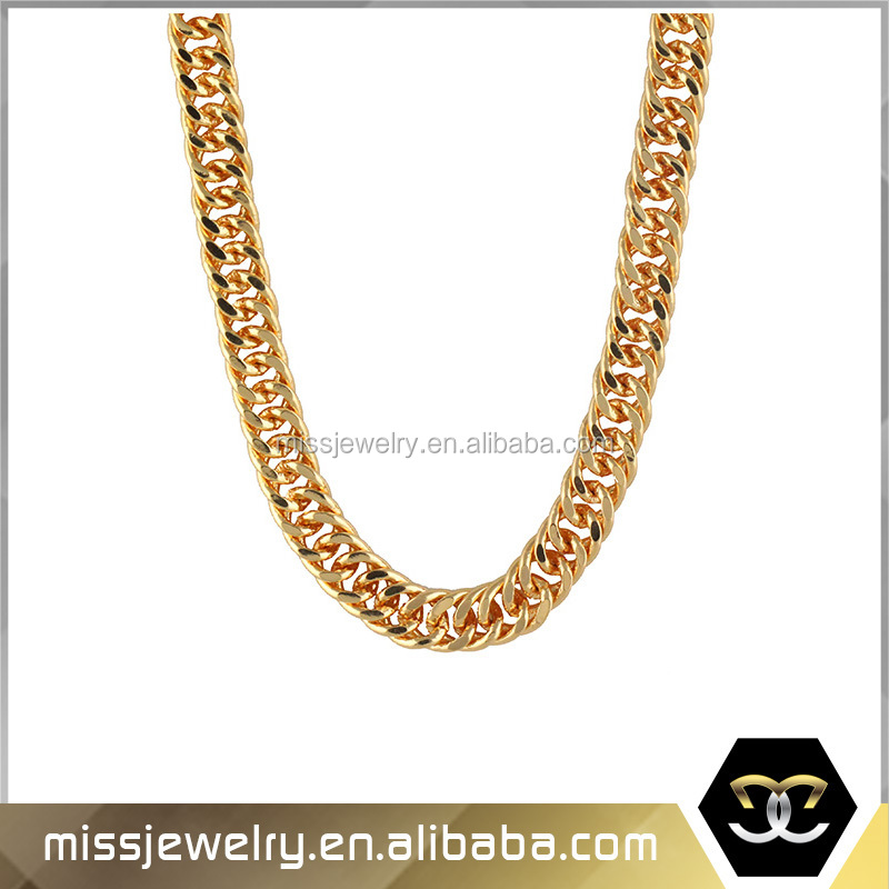 Missjewelry Id Mjcn008 2015 Trendy Real 18k Gold Weight Mens Gold ...