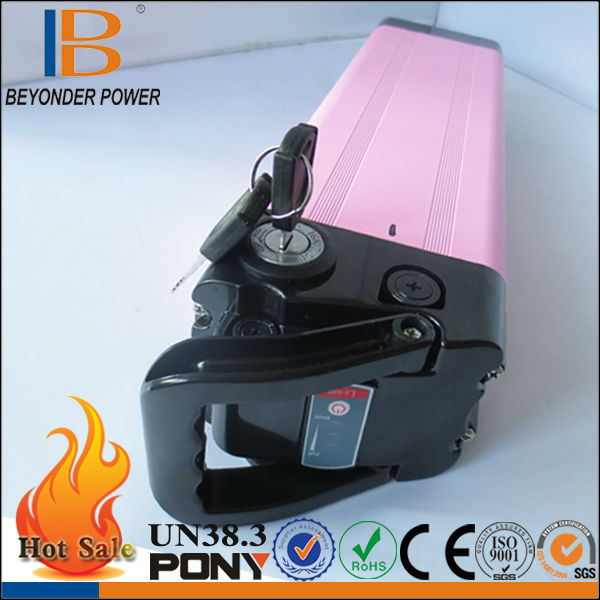 For LG 18650 battery cells for E-bick 3.7V li-ion battery pack good qulity OEM with pink case