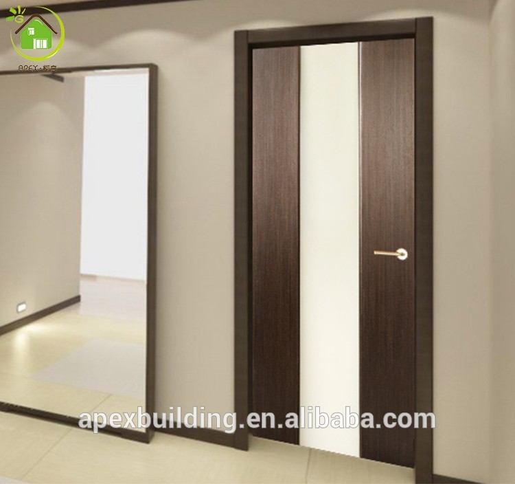 Walnut Color Frosted Glass Shower Doors / Bathroom Door Bi Fold ...