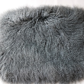 ST-MSP 60x60cm Curly Long Hairs Mongolian Fur Plate Tibetan Wool Skin Pelt for Baby Shooting Photo