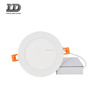 "3/4/5"" Dimmable Round LED Panel Light Ultra-thin 5000K Cool White LED Recessed Ceiling Lights for Home Office Commercial light"