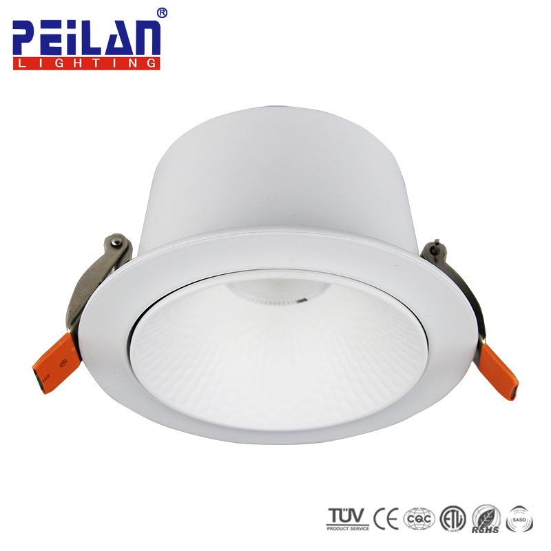 Commercial Showrooms Mini 5W 10W 20W 30 40W Ceiling Recessed COB Spot Light LED Trimless Spotlight