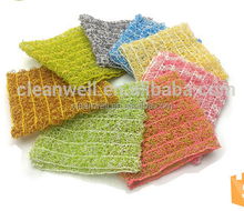 Plastic Scourer Scouring Pad Non-scratch scouring pad