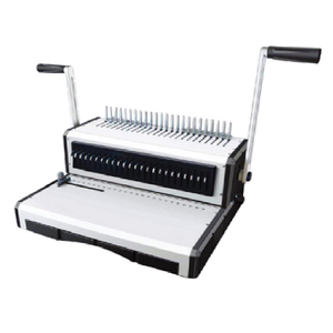 Factory Supply Comb Ring Photo Letter Book Binding Machines