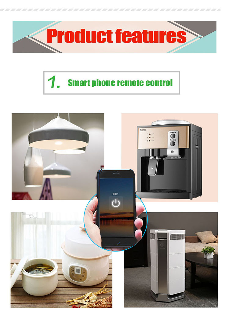 BLE Switch Relé Domotica Light Smart Home Automation Relé
