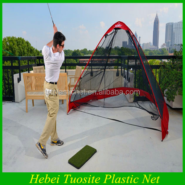 high quality durable pop up golf practice net easy and simple to handle