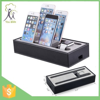 4 In 1 Multi Device Organizer Office Desk Phone Table Stand Promotional  Mobile Phone Holder