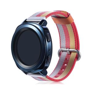 22mm 20mm OEM Nylon Woven Fabric Watch Strap for Samsung Galaxy Watch Band
