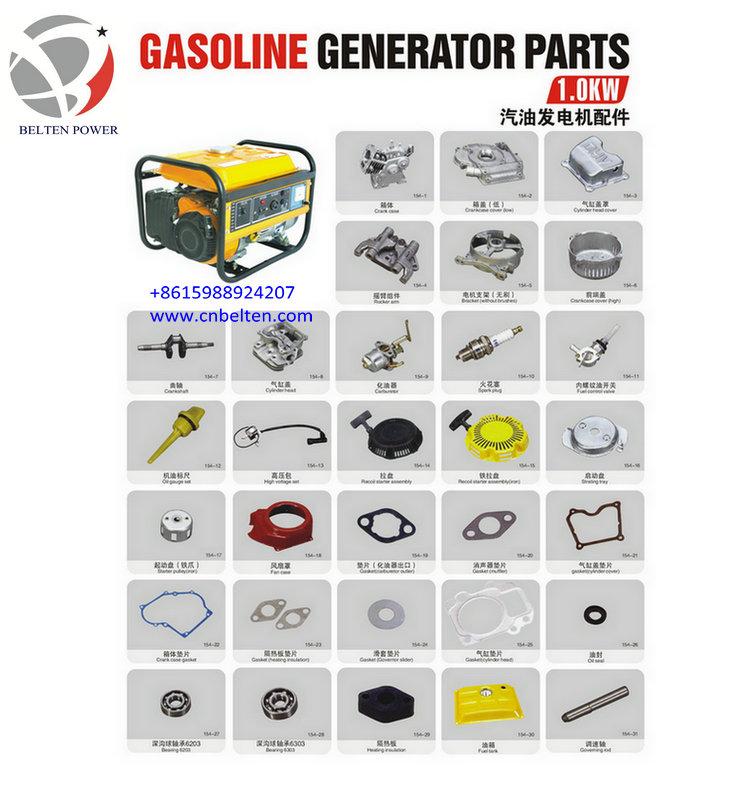 statore e rotore di generatore a benzina parti di ricambio