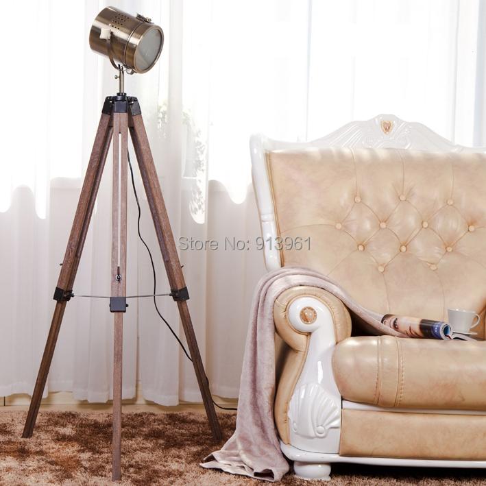 classique r tro lampadaire ikea paires air force tr pied standard lampe vintage lampe de table. Black Bedroom Furniture Sets. Home Design Ideas